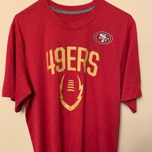 Nike San Francisco 49ers dry fit tshirt size Large